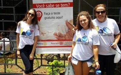 PIJ na Campanha Hepatite Zero